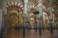 Mezquita i Cordoba Arkivfoto
