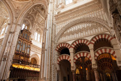 Mezquita Interior Royalty Free Stock Images