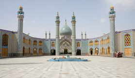 Mezquita Irán Foto de archivo