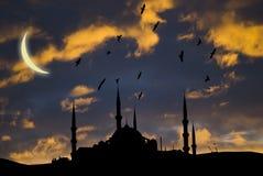 Mezquita islámica imagen de archivo libre de regalías