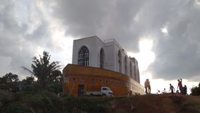Mezquita islámica foto de archivo libre de regalías