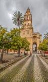 Mezquita-kathedraal Minaret, Cordoba II stock foto