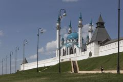 Mezquita Kazán imagen de archivo
