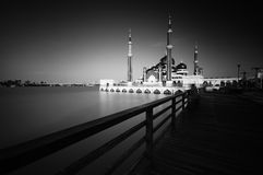 Mezquita Kristal Terengganu Fotografía de archivo