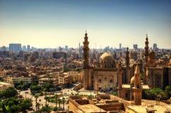 Mezquita-Madrassa de Sultan Hassan Cairo foto de archivo