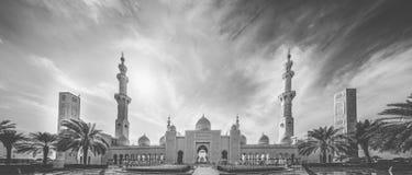 Mezquita magnífica Fotografía de archivo libre de regalías