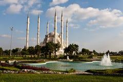 Mezquita magnífica de Adana. foto de archivo libre de regalías