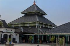 Mezquita magnífica de Demak, Indonesia fotografía de archivo