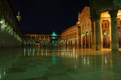 Mezquita magnífica de Umayyad Imágenes de archivo libres de regalías