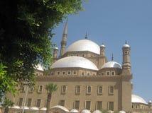Mezquita magnífica El Cairo Foto de archivo