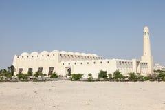 Mezquita magnífica en Doha, Qatar Fotografía de archivo libre de regalías