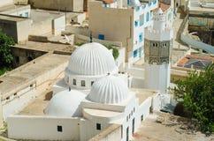 Mezquita magnífica en el EL céntrico Kef Foto de archivo