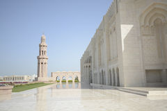 Mezquita magnífica en moscatel fotografía de archivo