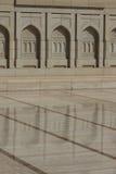 Mezquita magnífica magnífica de Muscat, Omán Fotografía de archivo