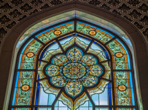 Mezquita magnífica - Muscat - Omán Fotografía de archivo libre de regalías