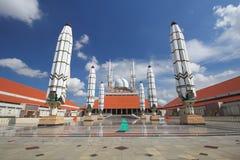 Mezquita magnífica Semarang Fotografía de archivo libre de regalías