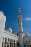 Mezquita magnífica Sheikh Al Zayed en Abu Dhabi Foto de archivo