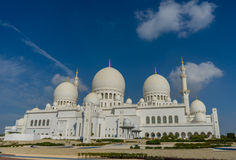 Mezquita magnífica Sheikh Al Zayed en Abu Dhabi Fotos de archivo