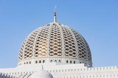 Mezquita magnífica de Qaboos del sultán en moscatel Fotos de archivo