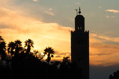 Mezquita Marrakesh, Marruecos Fotos de archivo