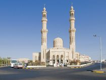Mezquita moderna Imagen de archivo libre de regalías