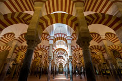 Mezquita Mosque Cathedral Cordoba Spain Stock Image