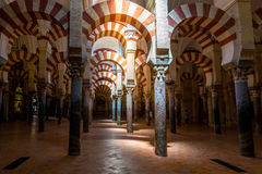 Mezquita Mosque Cathedral Cordoba Spain Stock Photo