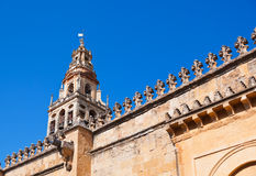 Mezquita Mosque Cathedral tower - Cordoba Spain Royalty Free Stock Photography