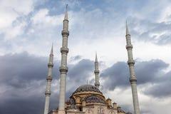 Mezquita musulmán de Tahtakale Camii de la religión del Islam en Turquía Manavgat Imágenes de archivo libres de regalías