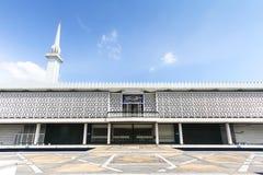 Mezquita nacional en Kuala Lumpur, Malasia - serie 2 Foto de archivo