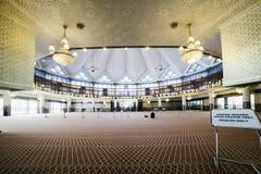 Mezquita nacional - mezquita de Masjid Negara en Kuala Lumpur, Malasia Fotos de archivo libres de regalías