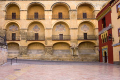 Mezquita and Plaza del Triunfo Royalty Free Stock Image