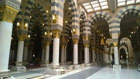 Mezquita profética Imágenes de archivo libres de regalías