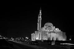 Mezquita Sharja del noor del Al foto de archivo