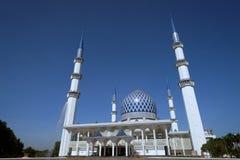 Mezquita Sultan Salahuddin Abdul Aziz Shah Selangor Malasia Fotos de archivo libres de regalías