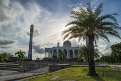 Mezquita Tailandia de Songkla del centro Fotos de archivo