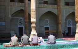 Mezquita tradicional en Uzbekistan Fotografía de archivo libre de regalías