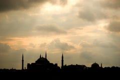Mezquita turca imagen de archivo libre de regalías