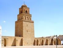 Mezquita Uqba o la gran mezquita de Kairouan Fotografía de archivo libre de regalías