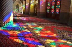 Mezquita y luz en Irán Imagen de archivo