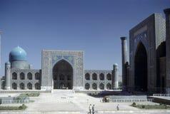 Mezquita y medresseh Imágenes de archivo libres de regalías