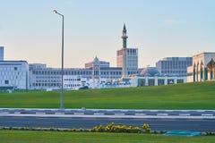Mezquitas de Doha, Qatar foto de archivo libre de regalías