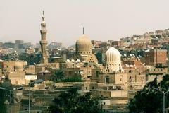 Mezquitas en El Cairo fotografía de archivo libre de regalías