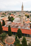 Mezquitas medievales en Rodas (Grecia) Imágenes de archivo libres de regalías