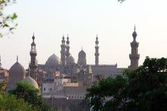 Mezquitas viejas en El Cairo imagen de archivo libre de regalías