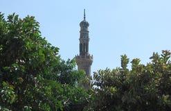 Mezquitas viejas en El Cairo fotografía de archivo