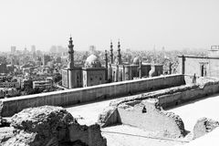 Mezquitas viejas en El Cairo fotos de archivo
