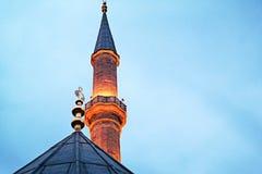 Mezquitas y alminar imágenes de archivo libres de regalías