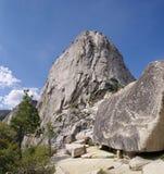 Mezza cupola della sommità nel parco nazionale di Yosemite Fotografie Stock Libere da Diritti