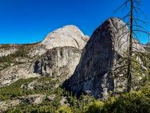 Mezza cupola, parco nazionale del yoesmite, S.U.A. fotografia stock